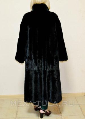 Норковая шубка Black