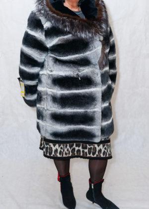 Кролик куртка с капюшоном